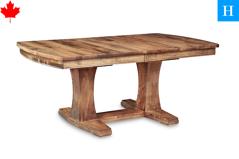Solid wood trestle dining tables sweden toronto for Dining room tables toronto